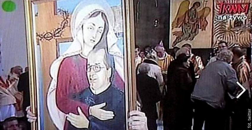 Matka Boska z Dzieciątkiem Rydzyk wywołała oburzenie ale i rozbawienie wśród Polaków