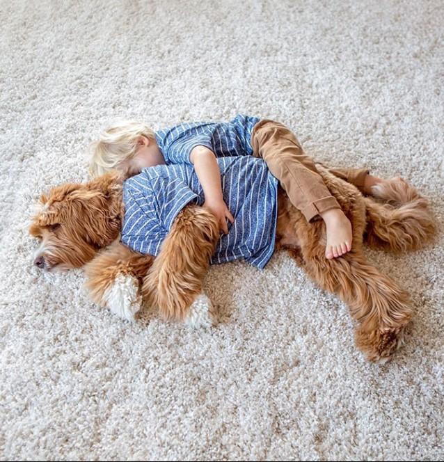 Przybrane dziecko i jego Labrador już podbili Instagram. To historia prawdziwej miłości