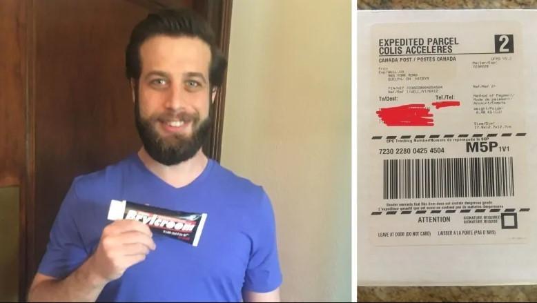 Mężczyzna otrzymał zamówiony towar osiem lat po zakupie i roześmiał się