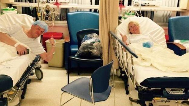 Mężczyzna spotkał swoją miłość w szpitalu. Wyjątkowa sytuacja w życiu zakochanych