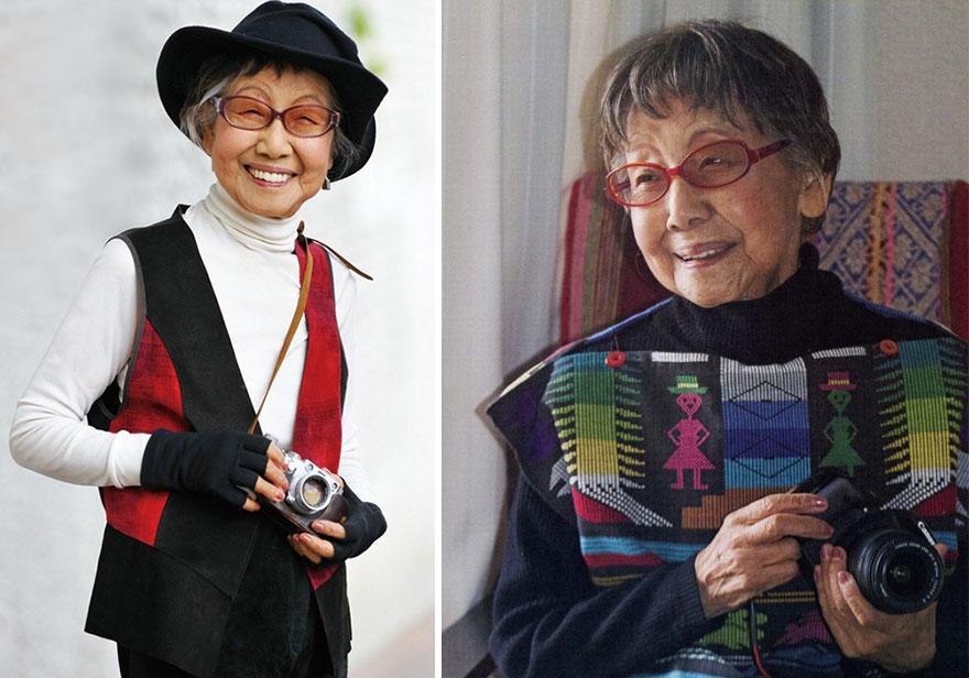 Pierwsza japońska fotoreporterka w wieku 101 lat nadal filmuje i ujawnia swoje sekrety