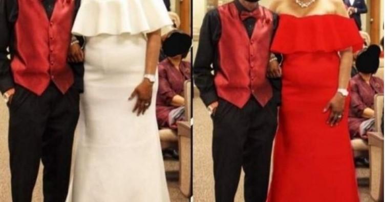 Teściowa chciała zepsuć ślub, gdy przyszła na przyjęcie w białej sukni. Jednak fotograf ślubny uratował sytuację