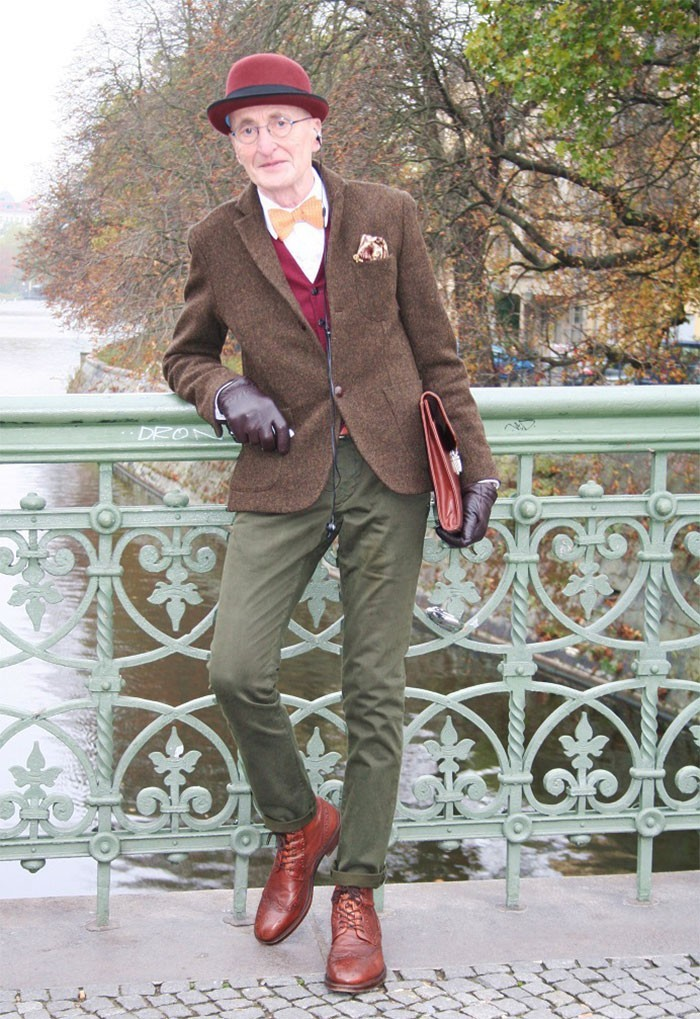 Najbardziej stylowy dziadek na świecie ubiera się lepiej od Ciebie