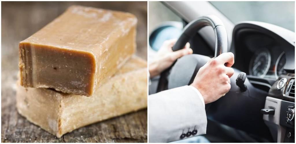 Dlaczego kierowcy powinni zawsze mieć w samochodzie kostkę szarego mydła