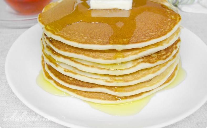 Przepis na delikatne pancakes