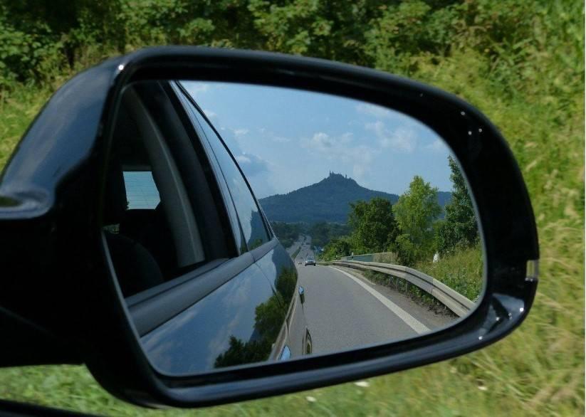 Błędy podczas ustawiania lusterek samochodowych