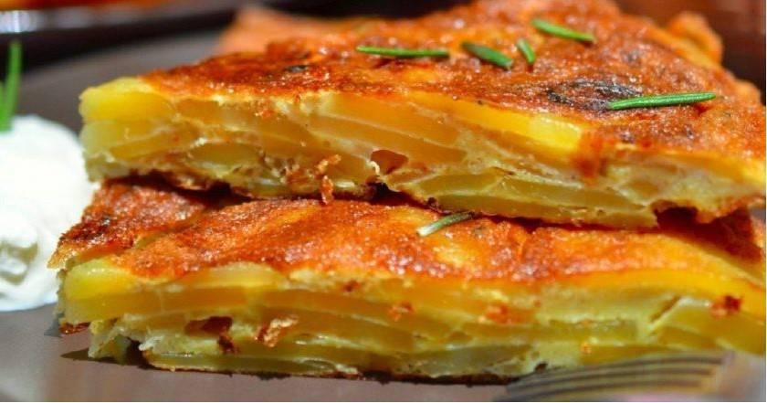 Hiszpańska Tortilla. Ziemniaki są o wiele smaczniejsze niż frytki i puree