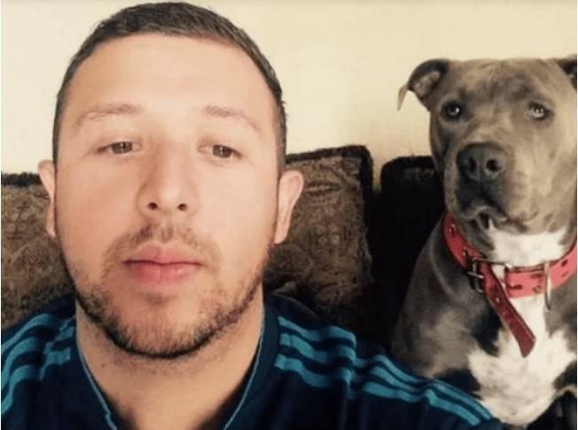 Pitbull zaprzyjaźnił się z kotem. Mężczyzna jest bardzo dumny ze swego psa