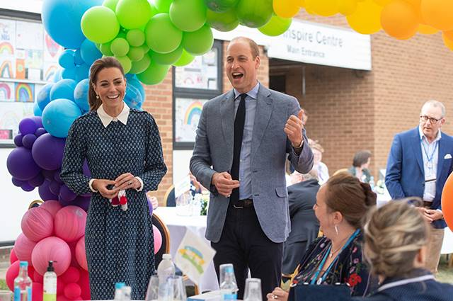 Kate Middleton i książę William odwiedzili szpital Queen Elizabeth Hospital w King's Lynn